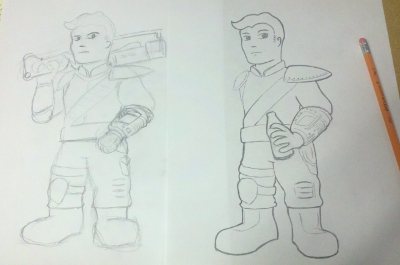The Kid from Vault 101-2nd-sketch