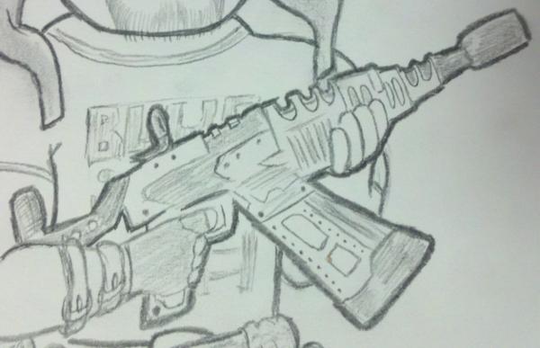 Vera detail sketch