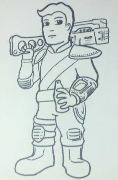 The Kid from Vault 101-4th-ink